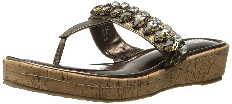 Grazie Women's Cayman Wedge Sandal B00PAMWYOS 10 B(M) US|Bronze