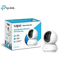 TP-Link 1080P Telecamera di Sorveglianza WiFi, Videocamera IP Interno Wireless, baby monitor, Visione Notturna, Audio Bidirezionale, Notifiche in tempo reale del sensore di movimento(Tapo C200)