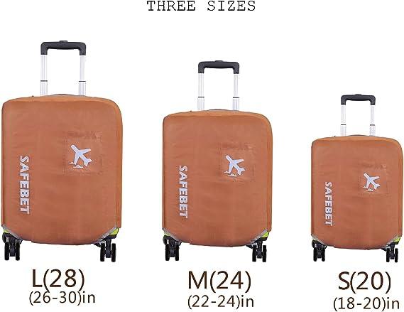 Dots Blanc Noir S18-22 Unibell /Élastique anti-poussi/ère Housse de protection Valise Voyage bagages Protecteur