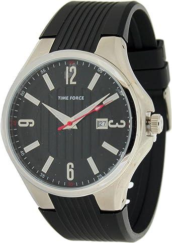Time Force Tf4053m01-10 Reloj Analogico para Hombre Caja De Acero ...