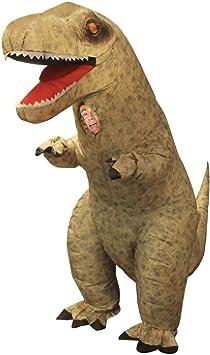 Morph Divertido Disfraz Inflable T-Rex Dinosaurio Adultos - Una ...
