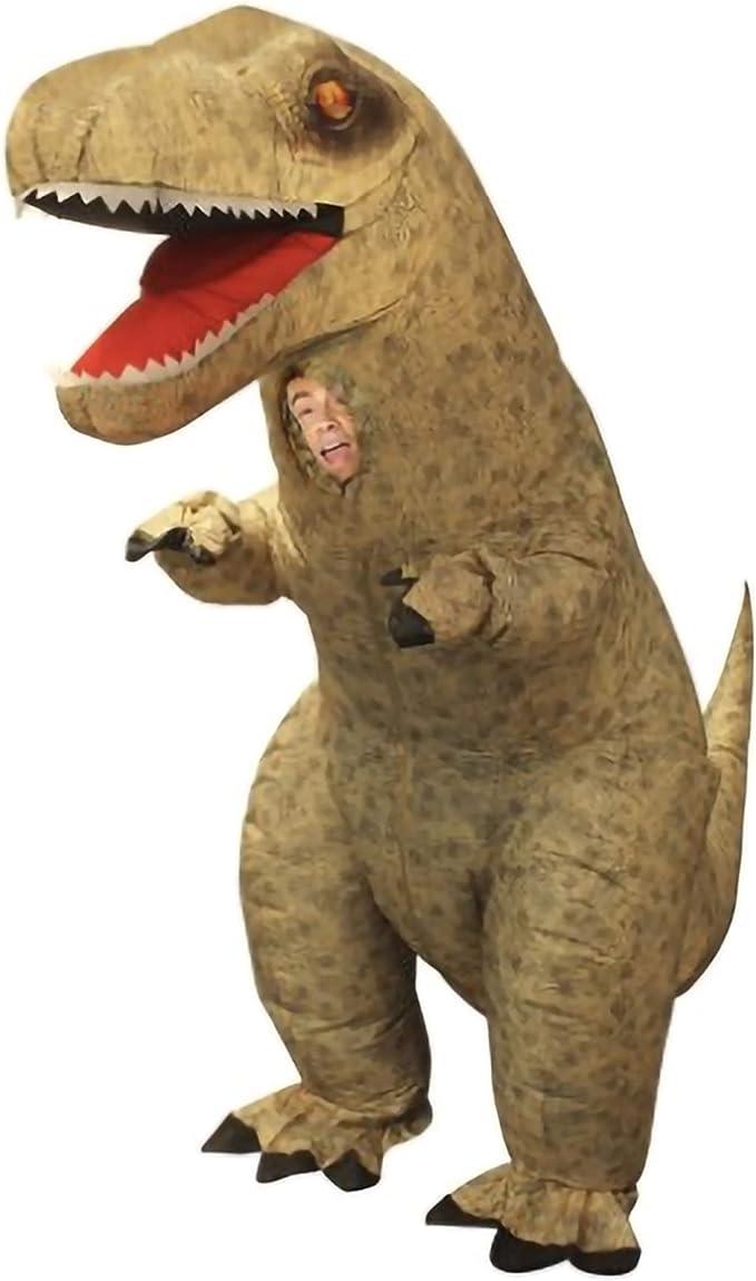 Amazon.com: Disfraz de dinosaurio inflable, elige entre ...