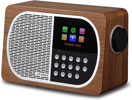 LEMEGA M2+ - Radio Inteligente de Mesa con Wi-Fi, Radio por ...