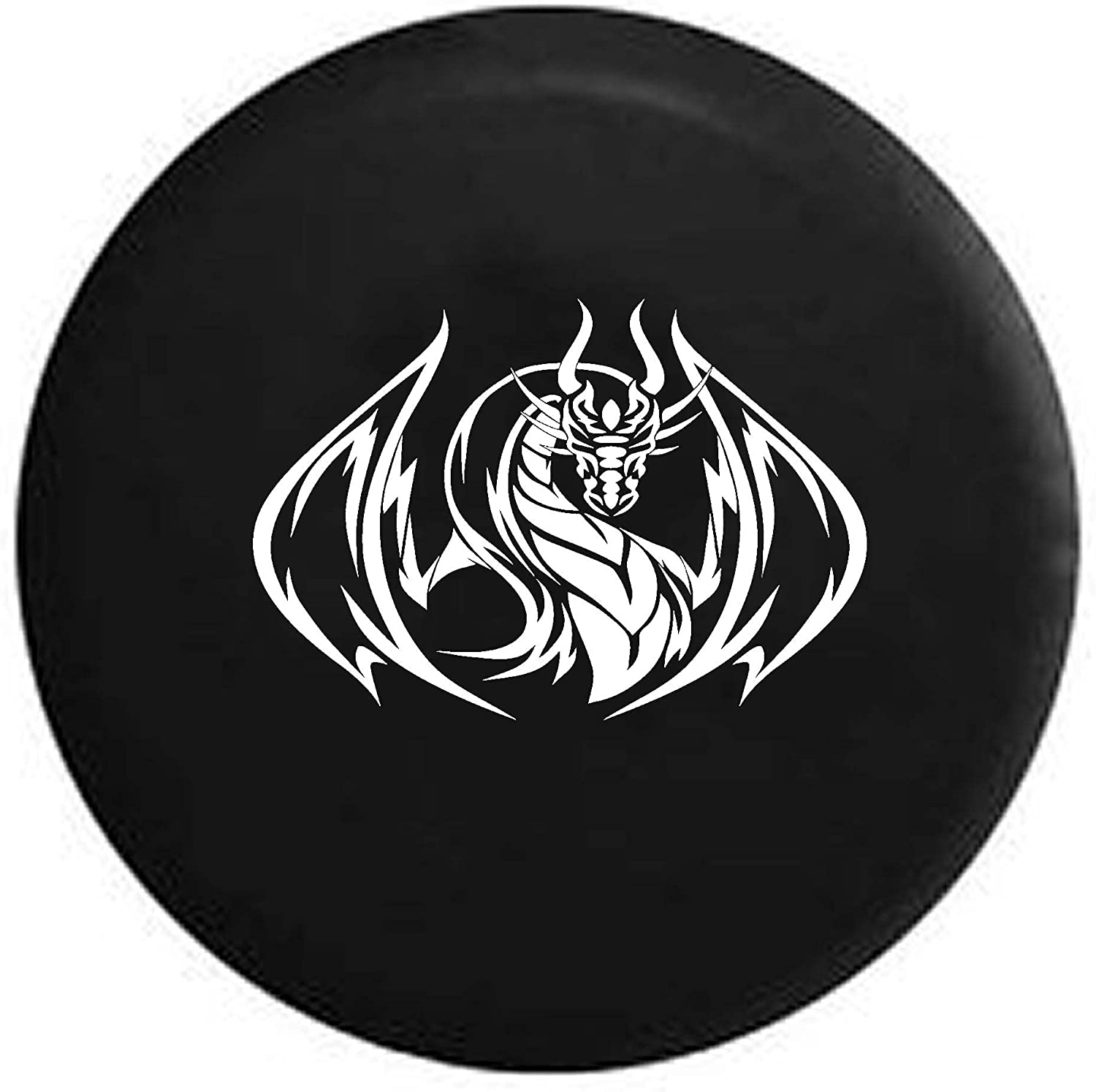 Pike Soaring Dragon Edition Unlimited Trailer RV Spare Tire Cover OEM Vinyl Black 29 in
