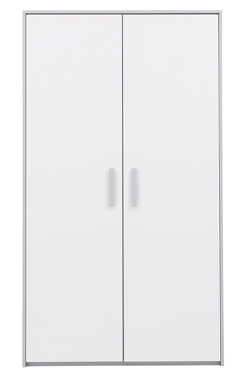 GAMI Armoire 2 Portes, Bois, 58 x 109 x 192 cm