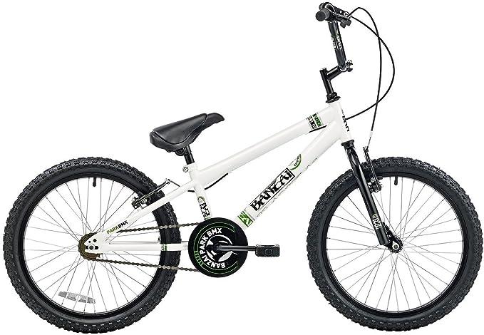 BANZAI BMX - Bicicleta Infantil BMX para niño, para Todas Las Medidas a Partir de 135 cm, Color Negro: Amazon.es: Deportes y aire libre