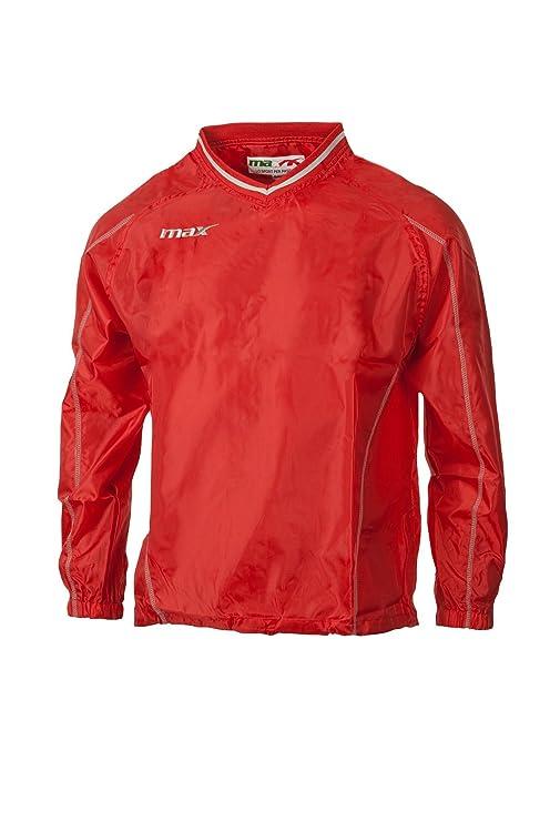 Max K-Way Zurigo Rojo Sport Chaquetas Lluvia: Amazon.es ...