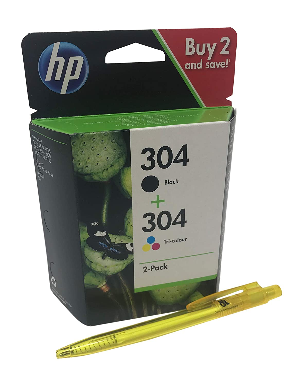 HP 304 Set Black + Color n9 K05ae n9 K06ae para HP Deskjet ...