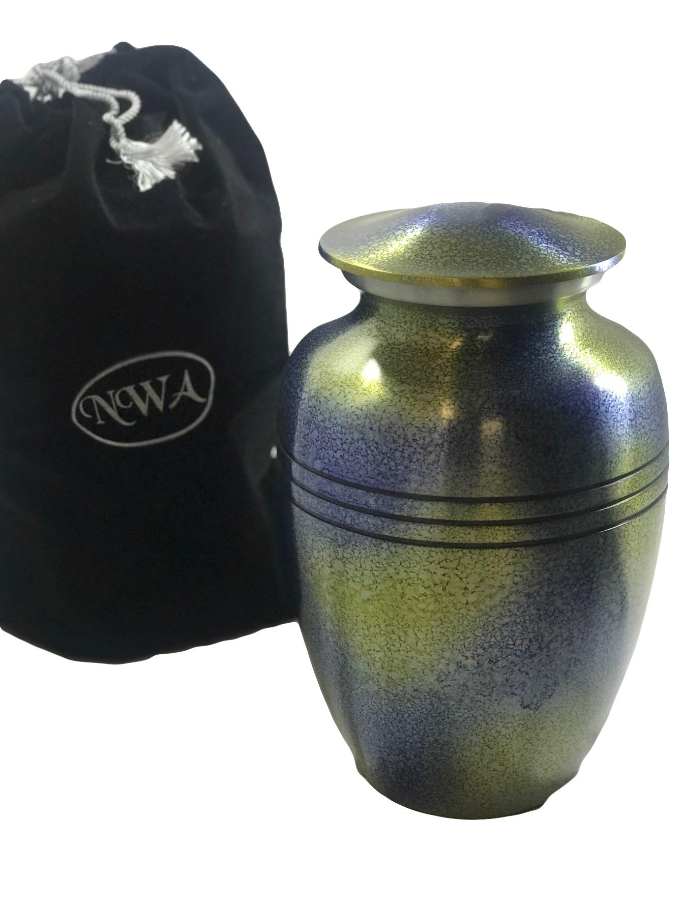 Extra Large Cremation Urn, Funeral Urns, Human Companion Urn With Bag by NWA
