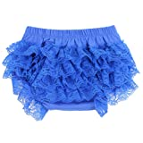 Wennikids Ruffled Lace Baby Diaper Bloomer Covers