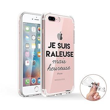 coque iphone 8 plus silicone fille