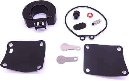 4 5 HP Carburetor Repair Kit with Float for Nissan Tohatsu 18-7765 369-87122-1