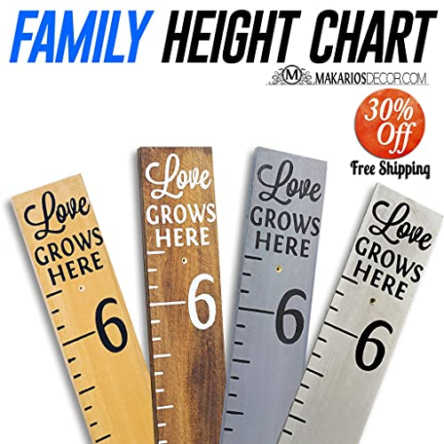 Amazon Height Chart For Kids Room Growth Chart For Kids Handmade