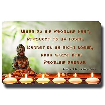 Guma Magneticum 6101 Kuhlschrankmagnet Spruche Buddha Problemlosung