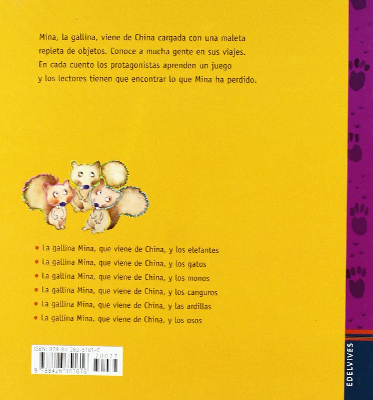 La gallina Mina que viene de China y las ardillas: Mercè Arànega: 9788426351616: Amazon.com: Books