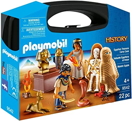 Playmobil 9542 History Egyptian Treasure Carry Case