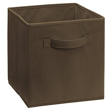 Charming ClosetMaid 5786 Cubeicals Fabric Drawer, Canteen/Brown