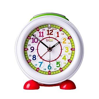 EasyRead time teacher Reloj Despertador Infantil luz Nocturna y Esfera Arco Iris en Formato DE 24