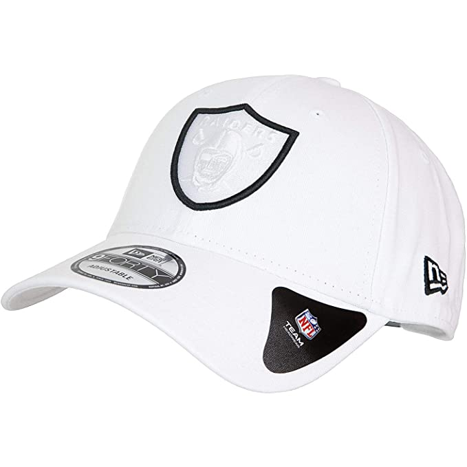 New Era Las Vegas Raiders NFL 9Forty - Gorra Blanco Talla única ...