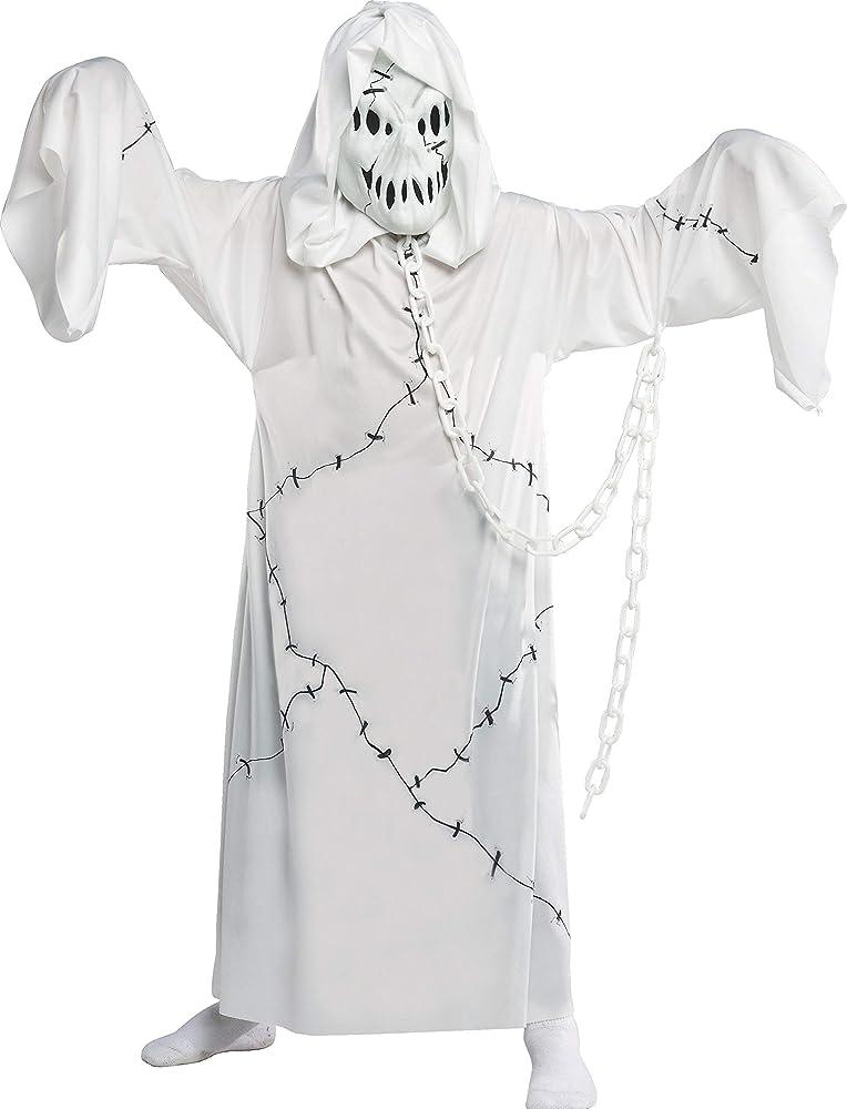 Rubies Official Cool 881036L Disfraz de fantasma,Blanco 8-10 años ...