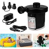 Pompa elettrica, Aodoor pompa ad aria elettrica materassino piscine gonfiabili pompa gonfiaggio elettrica (Nero)