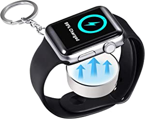 BEITEPACK [Upgraded Version] Portable iWatch Wireless Charger, Magnetic Wireless Charger, Compitable for Apple Watch Series 6/5/4/3/2/1