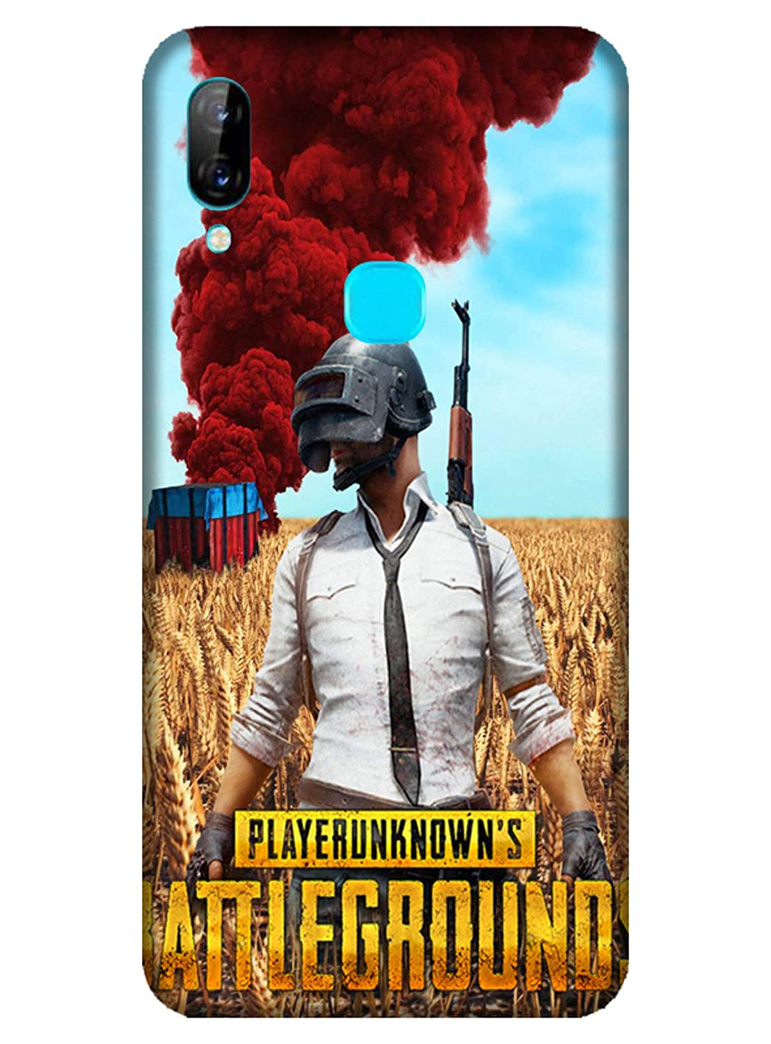PNBEE PubG Print 3D Back Case Cover for Lenovo S5 Pro