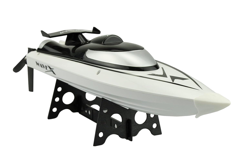 Amewi WaveX Bote de Juguete 1800mAh - Juguetes de Control Remoto (Polímero de Litio): Amazon.es: Juguetes y juegos