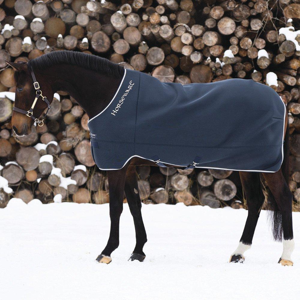 Horseware Rambo Airmax Cooler - Navy/Tan Groesse:115