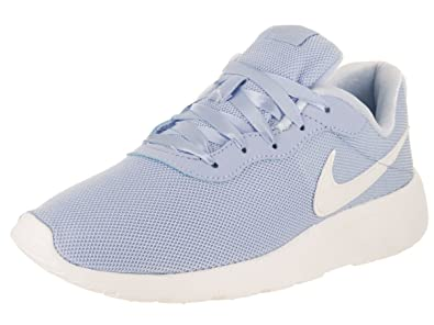 Nike Kids Tanjun SE (GS) Royal Tint/Sail Running Shoe 5 Kids US