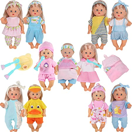 Young Buds 10pc Outfit & Accessory Set