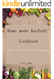 Home made Kachodi Cookbook: Boats with Minced Beef Recipes