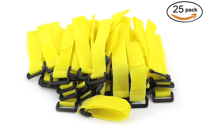 Pasow Attaches de câ ble avec Boucle en Plastique ré glable Fil Cordon Sangles –  20, 3 cm 3cm Pasow Tech
