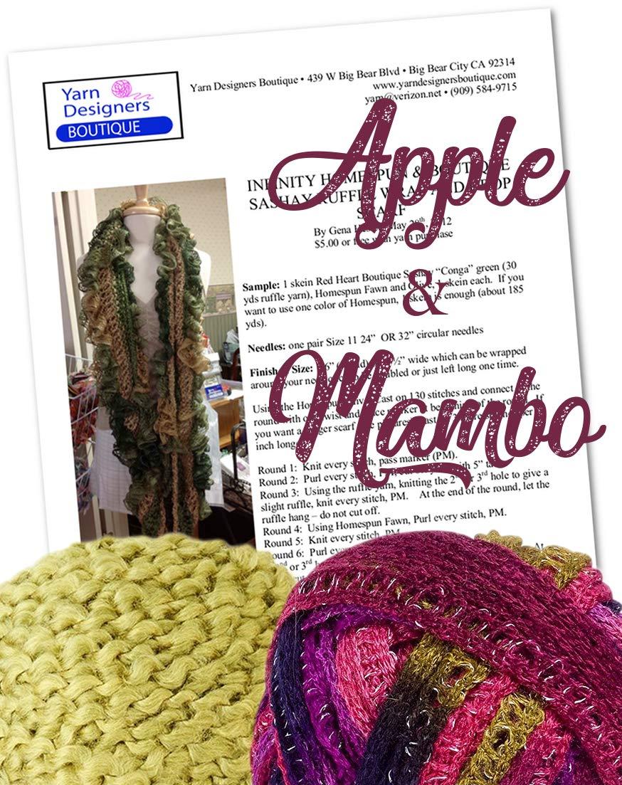 Amazon Com Ruffle Scarf Knitting Kit Infinity Fluffy Scarf Diy
