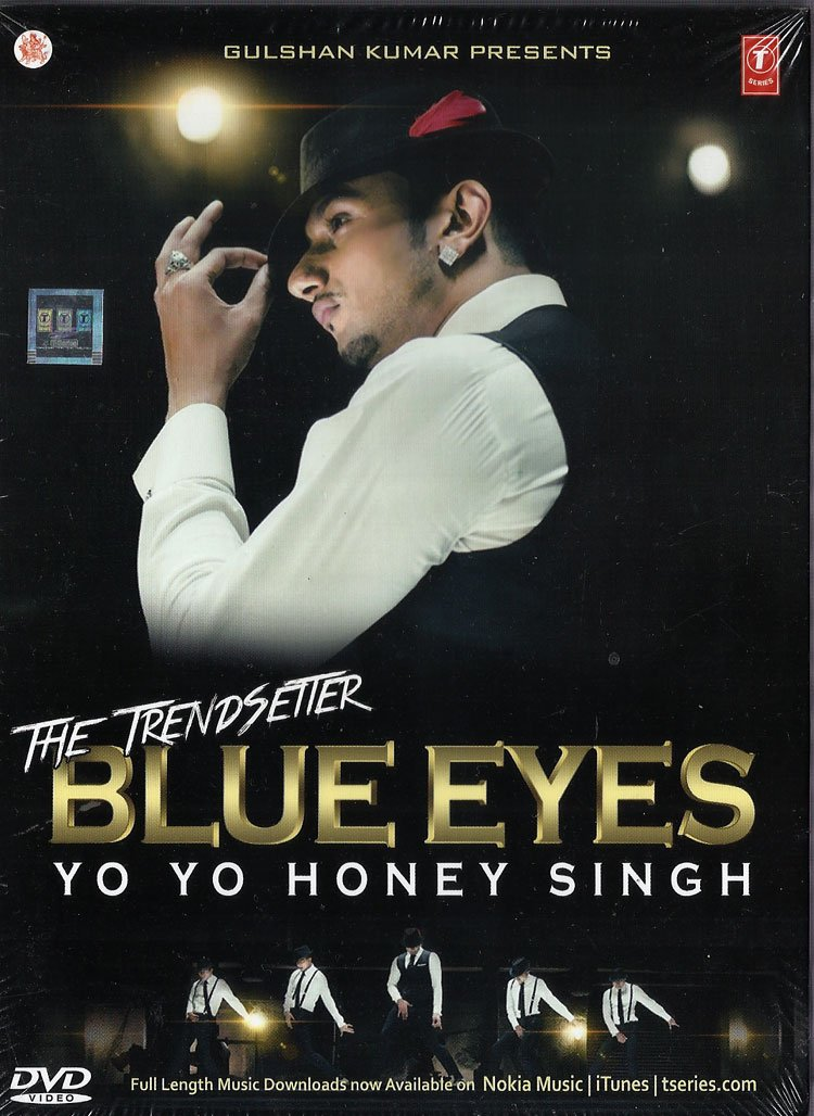 Amazon com: Blue Eyes Yo Yo Honey Singh Songs DVD (Bollywood