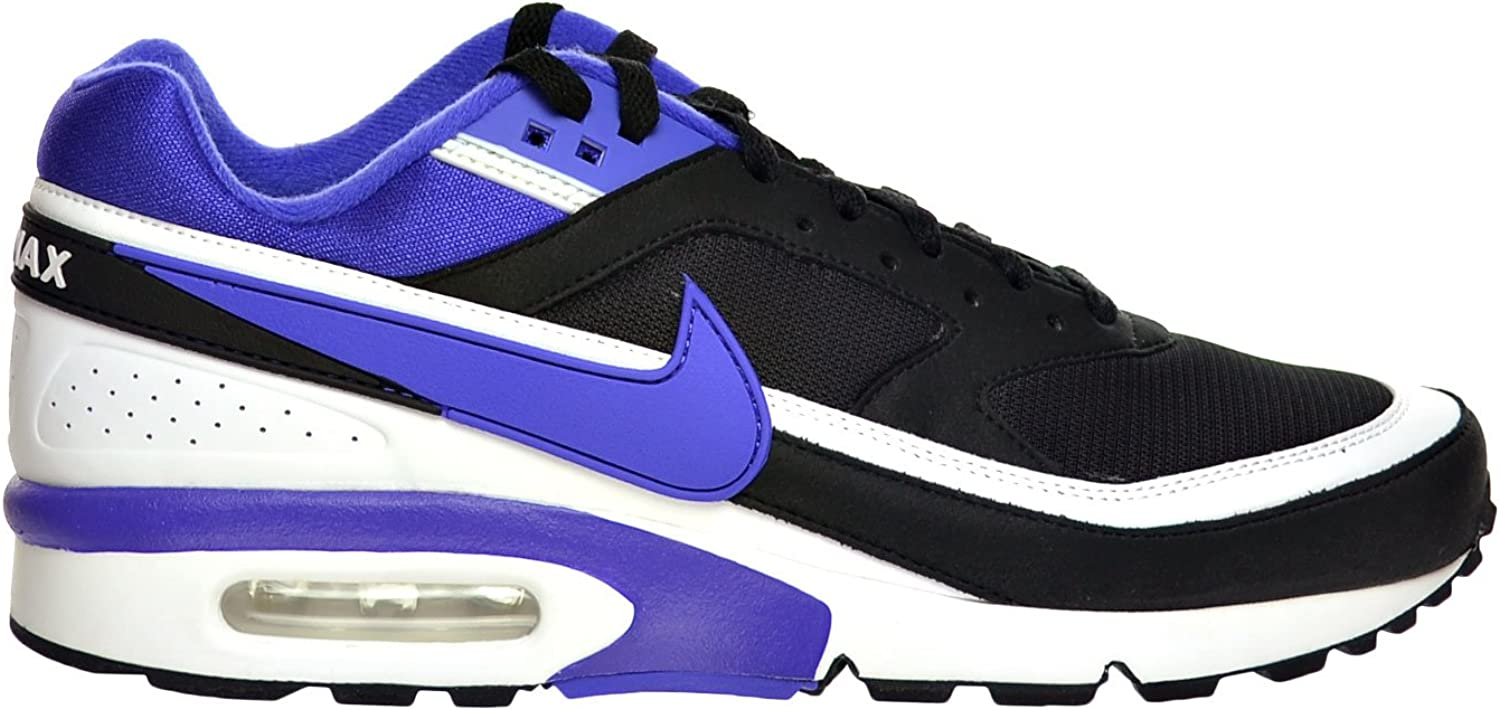 Nike Air Max BW OG Men s Shoes Black Persian Violet White 819522-051