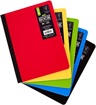 Pen+Gear Poly Composition Book 9.75in x 7.5in 80ct pack of 2
