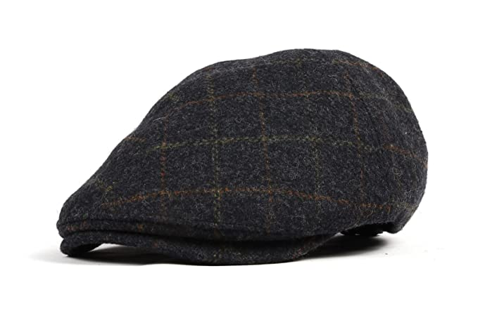 WITHMOONS Coppola Cappello Irish Gatsby Wool Newsboy Hat Flat Cap SL3022  (Blue)  Amazon.it  Abbigliamento 60eccd003df9