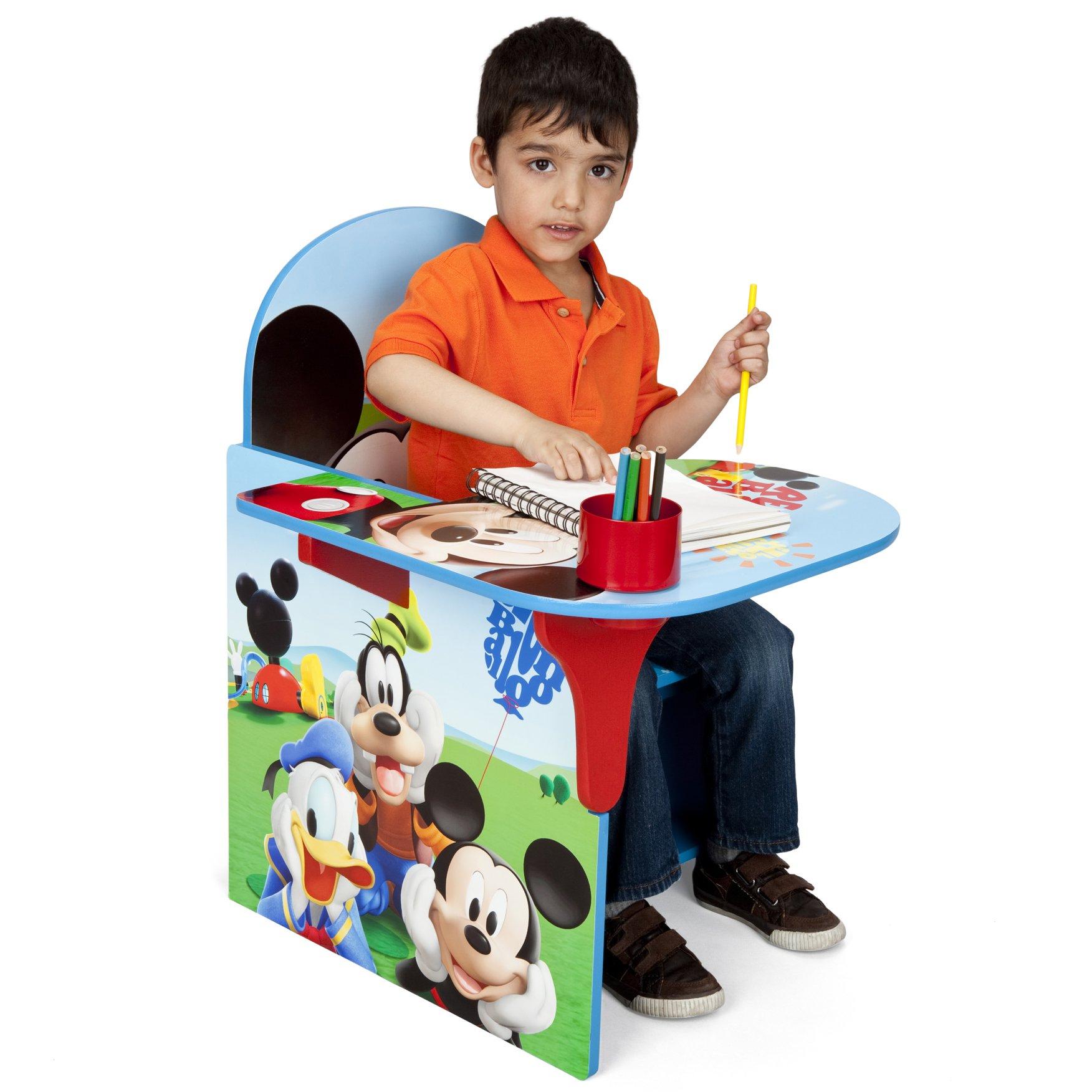 Delta Children Chair Desk With Storage Bin, Disney Mickey Mouse by Delta Children (Image #2)