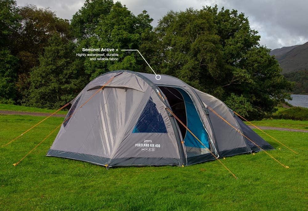 Unisex Adulto Gris Vivid Grey 400 Vango Airbeam Ringstead Air Tent