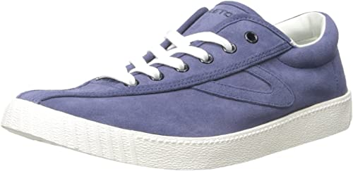 Tretorn Men/'s Nylite 11 Plus Casual Suede Lace Up Sneakers Bone