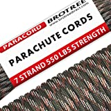 4 mm 10 25 50 100 Lanyard Keychain 4 mm Survival Kit for Camping /& Craftiing Durable Military Parachute Cord Lanyard Great to Make Bracet 100/% Nylon 7 Strand Type III Soquali Paracord 550 Mil Spec 100/% Nylon 7 Strand Type III