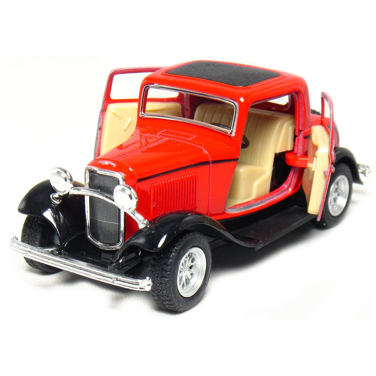 Amazon.com Set of 4 5  1932 Ford 3-Window Coupe 134 Scale (Green/Maroon/Red/Yellow) Toys u0026 Games  sc 1 st  Amazon.com & Amazon.com: Set of 4: 5