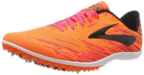 984b8bbe4 Brooks Mach 18, Scarpe per Corsa campestre Uomo, Arancione (Orange/Pink/