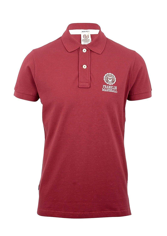 Franklin & Marshall - Polo - para Hombre Rojo Earth Red XX-Large ...