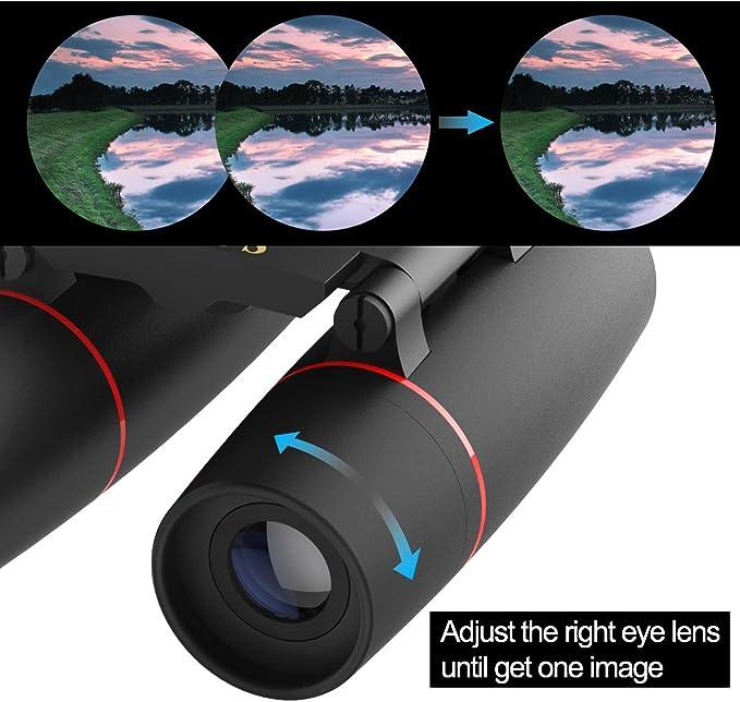 Mini jumelles 30x60 pour adulte enfant Asgens Compact Portable Pliante jumelle avec faible luminosit/é Vision de nuit pour observation des oiseaux-ext/érieur-la chasse-la randonn/ée-Concert de voyage