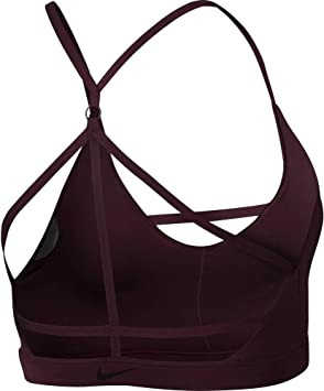 Nike Indy JDI Bra - Sujetador Deportivo, Mujer, (Burgundy Crush ...