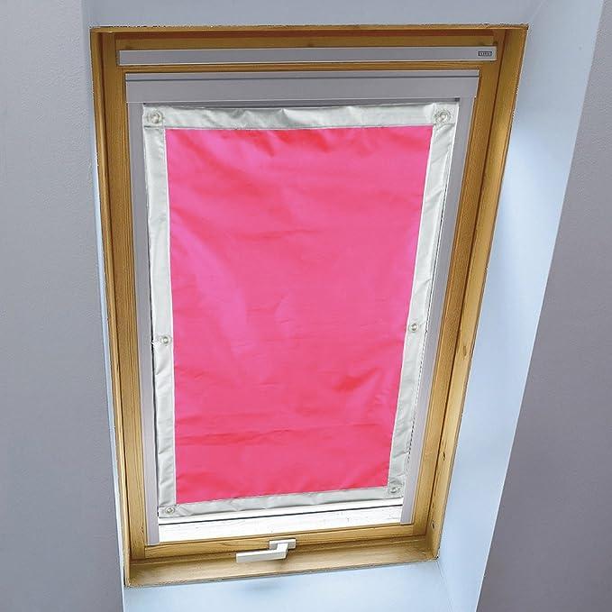 Hdm 60x93 Cm Beige Foncé Store Pour Fenêtre De Toit Velux