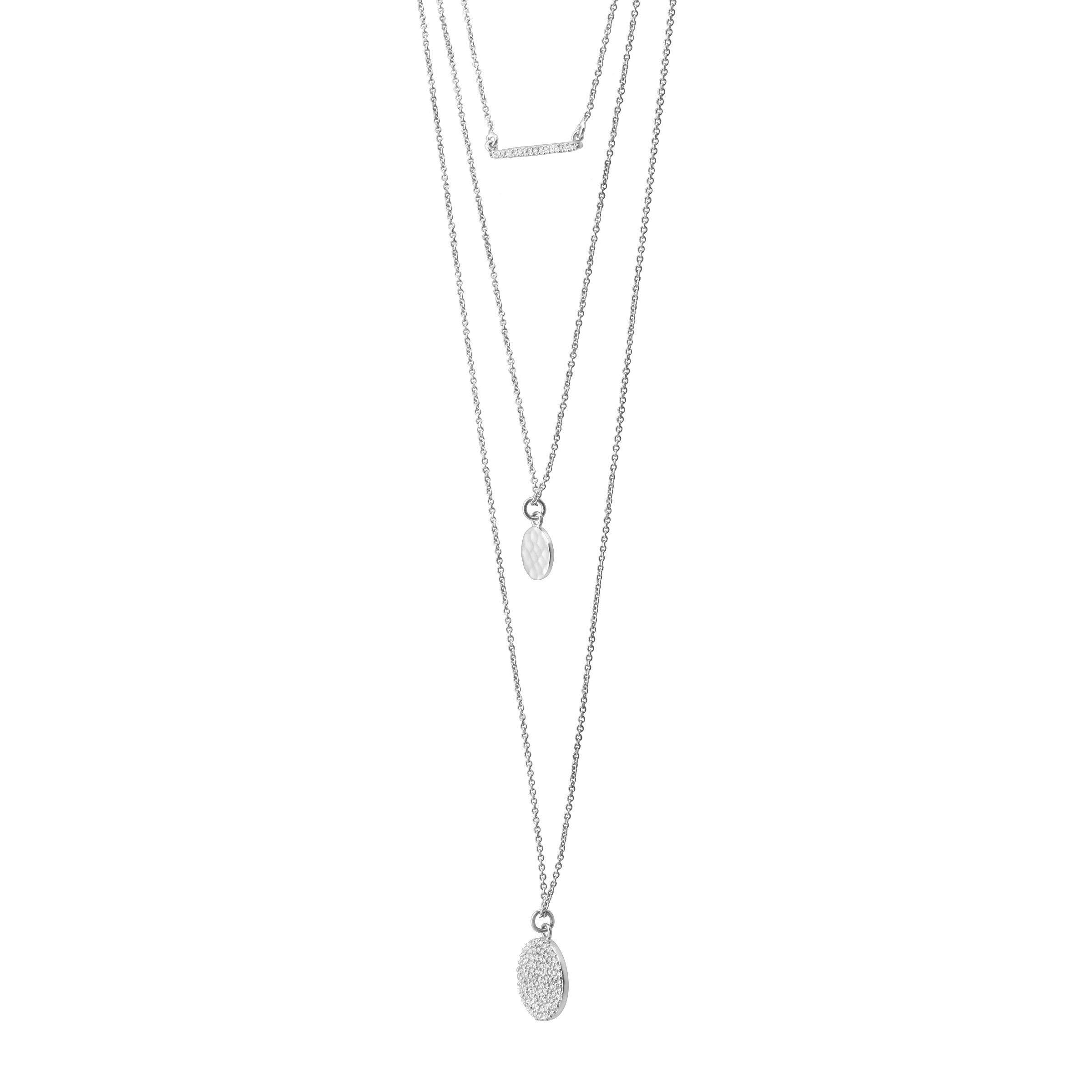 Silpada 'Triple Drop' 1/2 ct Cubic Zirconia Necklace in Sterling Silver by Silpada (Image #2)