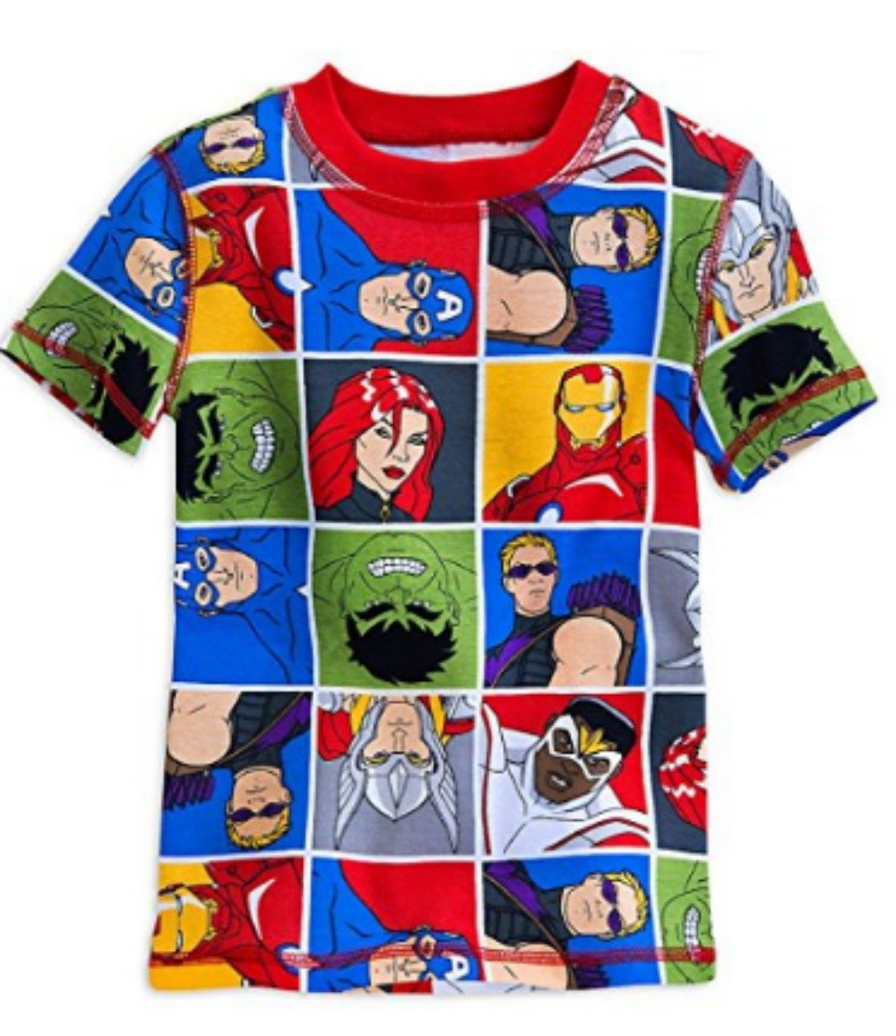 Disney Marvel's Avengers PJ PALS Pajama Short Set for Boys (2) by Marvel (Image #2)